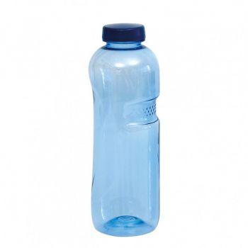 blaue trinkflasche